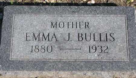 BULLIS, EMMA J. - Union County, South Dakota | EMMA J. BULLIS - South Dakota Gravestone Photos