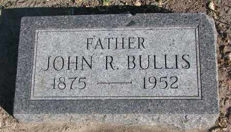 BULLIS, JOHN R. - Union County, South Dakota   JOHN R. BULLIS - South Dakota Gravestone Photos