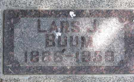 BUUM, LARS J. - Union County, South Dakota   LARS J. BUUM - South Dakota Gravestone Photos