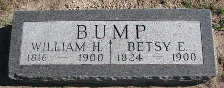 BUMP, WILLIAM H. - Union County, South Dakota | WILLIAM H. BUMP - South Dakota Gravestone Photos