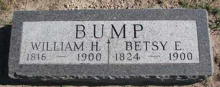 BUMP, BETSY E. - Union County, South Dakota | BETSY E. BUMP - South Dakota Gravestone Photos
