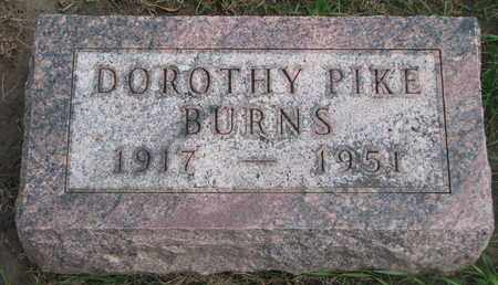 PIKE BURNS, DOROTHY - Union County, South Dakota | DOROTHY PIKE BURNS - South Dakota Gravestone Photos