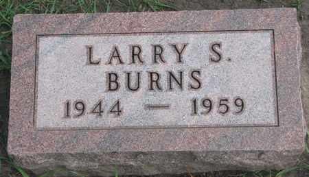 BURNS, LARRY S. - Union County, South Dakota | LARRY S. BURNS - South Dakota Gravestone Photos