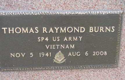 BURNS, THOMAS R. (VIETNAM) - Union County, South Dakota   THOMAS R. (VIETNAM) BURNS - South Dakota Gravestone Photos