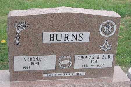 BURNS, VERONA L. - Union County, South Dakota | VERONA L. BURNS - South Dakota Gravestone Photos
