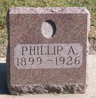 BURRELL, PHILLIP A. - Union County, South Dakota | PHILLIP A. BURRELL - South Dakota Gravestone Photos