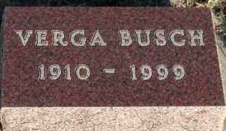 BUSCH, VERGA - Union County, South Dakota | VERGA BUSCH - South Dakota Gravestone Photos