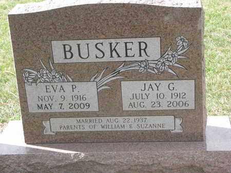 BUSKER, JAY G. - Union County, South Dakota | JAY G. BUSKER - South Dakota Gravestone Photos