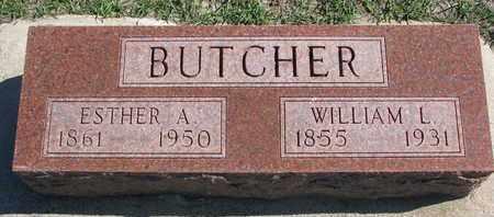 BUTCHER, WILLIAM L. - Union County, South Dakota | WILLIAM L. BUTCHER - South Dakota Gravestone Photos