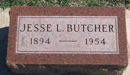 BUTCHER, JESSE L. - Union County, South Dakota   JESSE L. BUTCHER - South Dakota Gravestone Photos