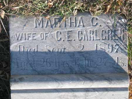CARLGREN, MARTHA C. - Union County, South Dakota   MARTHA C. CARLGREN - South Dakota Gravestone Photos