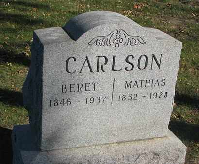 CARLSON, BERET - Union County, South Dakota | BERET CARLSON - South Dakota Gravestone Photos
