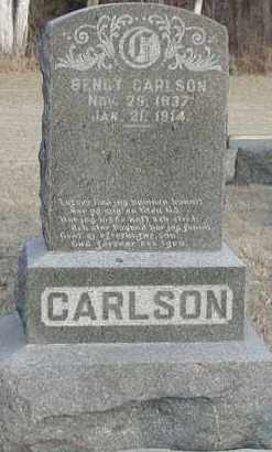 CARLSON, BENGT - Union County, South Dakota | BENGT CARLSON - South Dakota Gravestone Photos