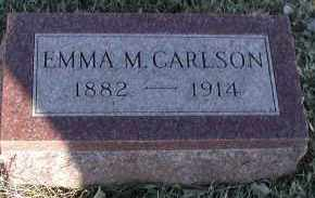 CARLSON, EMMA M - Union County, South Dakota | EMMA M CARLSON - South Dakota Gravestone Photos