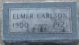 CARLSON, ELMER - Union County, South Dakota | ELMER CARLSON - South Dakota Gravestone Photos