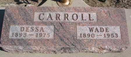 CARROLL, DESSA - Union County, South Dakota | DESSA CARROLL - South Dakota Gravestone Photos