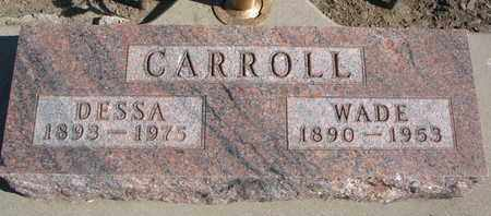 CARROLL, DESSA - Union County, South Dakota | DESSA CARROLL - South Dakota Gravestone Photos