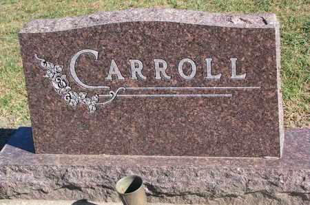 CARROLL, FAMILY STONE - Union County, South Dakota | FAMILY STONE CARROLL - South Dakota Gravestone Photos