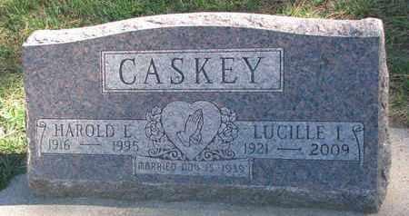 CASKEY, LUCILLE I. - Union County, South Dakota   LUCILLE I. CASKEY - South Dakota Gravestone Photos