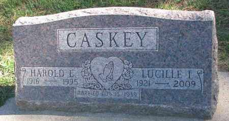 CASKEY, LUCILLE I. - Union County, South Dakota | LUCILLE I. CASKEY - South Dakota Gravestone Photos