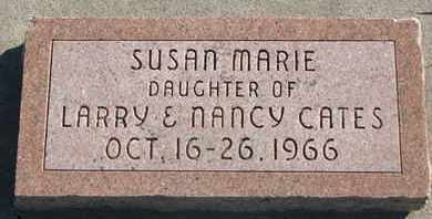CATES, SUSAN MARIE - Union County, South Dakota   SUSAN MARIE CATES - South Dakota Gravestone Photos