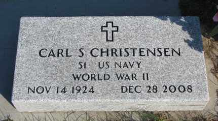 CHRISTENSEN, CARL S. (WORLD WAR II) - Union County, South Dakota | CARL S. (WORLD WAR II) CHRISTENSEN - South Dakota Gravestone Photos