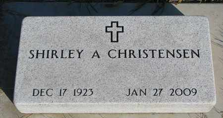 CHRISTENSEN, SHIRLEY A. - Union County, South Dakota | SHIRLEY A. CHRISTENSEN - South Dakota Gravestone Photos