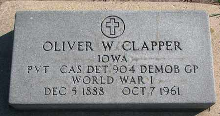 CLAPPER, OLIVER W. (WORLD WAR I) - Union County, South Dakota | OLIVER W. (WORLD WAR I) CLAPPER - South Dakota Gravestone Photos