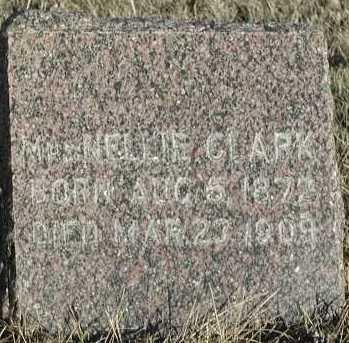 CLARK, NELLIE - Union County, South Dakota   NELLIE CLARK - South Dakota Gravestone Photos