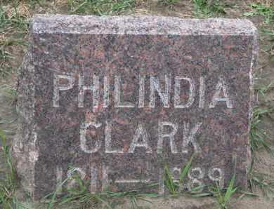 CLARK, PHILINDIA - Union County, South Dakota   PHILINDIA CLARK - South Dakota Gravestone Photos