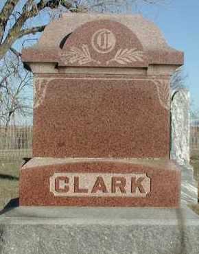 CLARK, PLOT - Union County, South Dakota   PLOT CLARK - South Dakota Gravestone Photos