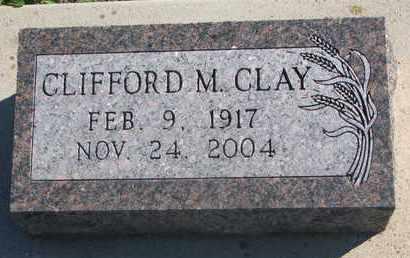 CLAY, CLIFFORD M. - Union County, South Dakota | CLIFFORD M. CLAY - South Dakota Gravestone Photos