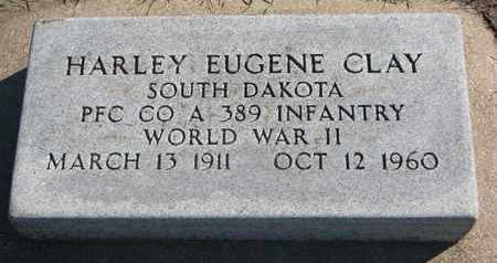 CLAY, HARLEY EUGENE (WORLD WAR II) - Union County, South Dakota | HARLEY EUGENE (WORLD WAR II) CLAY - South Dakota Gravestone Photos