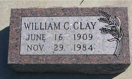 CLAY, WILLIAM C. - Union County, South Dakota | WILLIAM C. CLAY - South Dakota Gravestone Photos