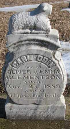CLEMENTSON, CARL ODIN - Union County, South Dakota | CARL ODIN CLEMENTSON - South Dakota Gravestone Photos