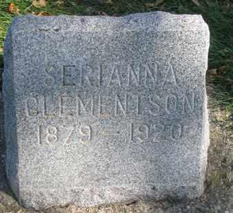 CLEMENTSON, SERIANNA - Union County, South Dakota | SERIANNA CLEMENTSON - South Dakota Gravestone Photos