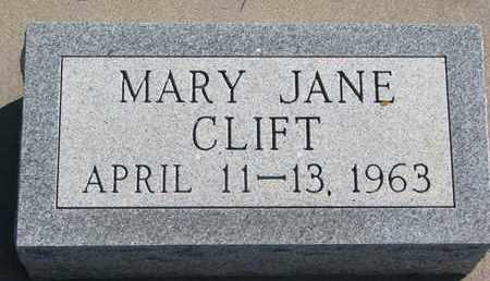 CLIFT, MARY JANE - Union County, South Dakota | MARY JANE CLIFT - South Dakota Gravestone Photos