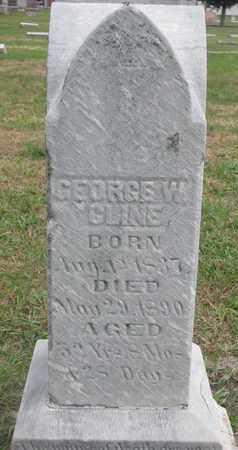 CLINE, GEORGE W. - Union County, South Dakota   GEORGE W. CLINE - South Dakota Gravestone Photos