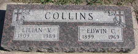 COLLINS, LILIAN V. - Union County, South Dakota   LILIAN V. COLLINS - South Dakota Gravestone Photos