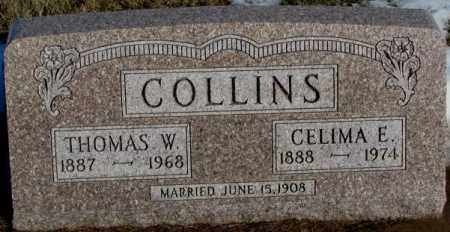 COLLINS, CELIMA E. - Union County, South Dakota | CELIMA E. COLLINS - South Dakota Gravestone Photos