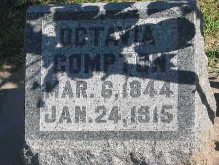COMPTON, OCTAVIA - Union County, South Dakota   OCTAVIA COMPTON - South Dakota Gravestone Photos