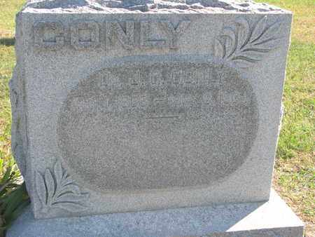 CONLY, D.J. - Union County, South Dakota   D.J. CONLY - South Dakota Gravestone Photos