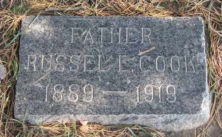 COOK, RUSSEL L. - Union County, South Dakota | RUSSEL L. COOK - South Dakota Gravestone Photos