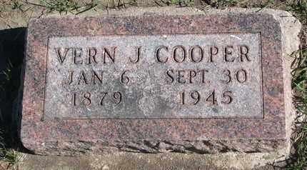 COOPER, VERN J. - Union County, South Dakota   VERN J. COOPER - South Dakota Gravestone Photos