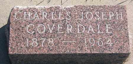 COVERDALE, CHARLES JOSEPH - Union County, South Dakota | CHARLES JOSEPH COVERDALE - South Dakota Gravestone Photos