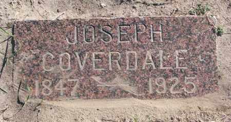 COVERDALE, JOSEPH - Union County, South Dakota   JOSEPH COVERDALE - South Dakota Gravestone Photos