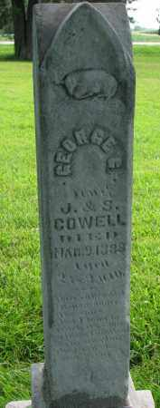 COWELL, GEORGE C. - Union County, South Dakota | GEORGE C. COWELL - South Dakota Gravestone Photos
