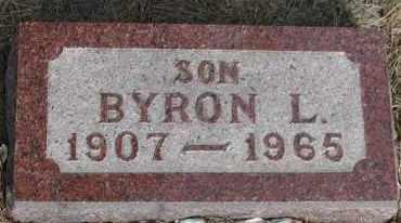 COX, BYRON L. - Union County, South Dakota | BYRON L. COX - South Dakota Gravestone Photos
