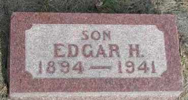 COX, EDGAR HARVEY - Union County, South Dakota | EDGAR HARVEY COX - South Dakota Gravestone Photos