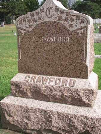 CRAWFORD, A. - Union County, South Dakota | A. CRAWFORD - South Dakota Gravestone Photos